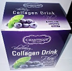 Chantique Blueberry Collagen Drink - RM55.00/Box, 3 Kotak RM145.00