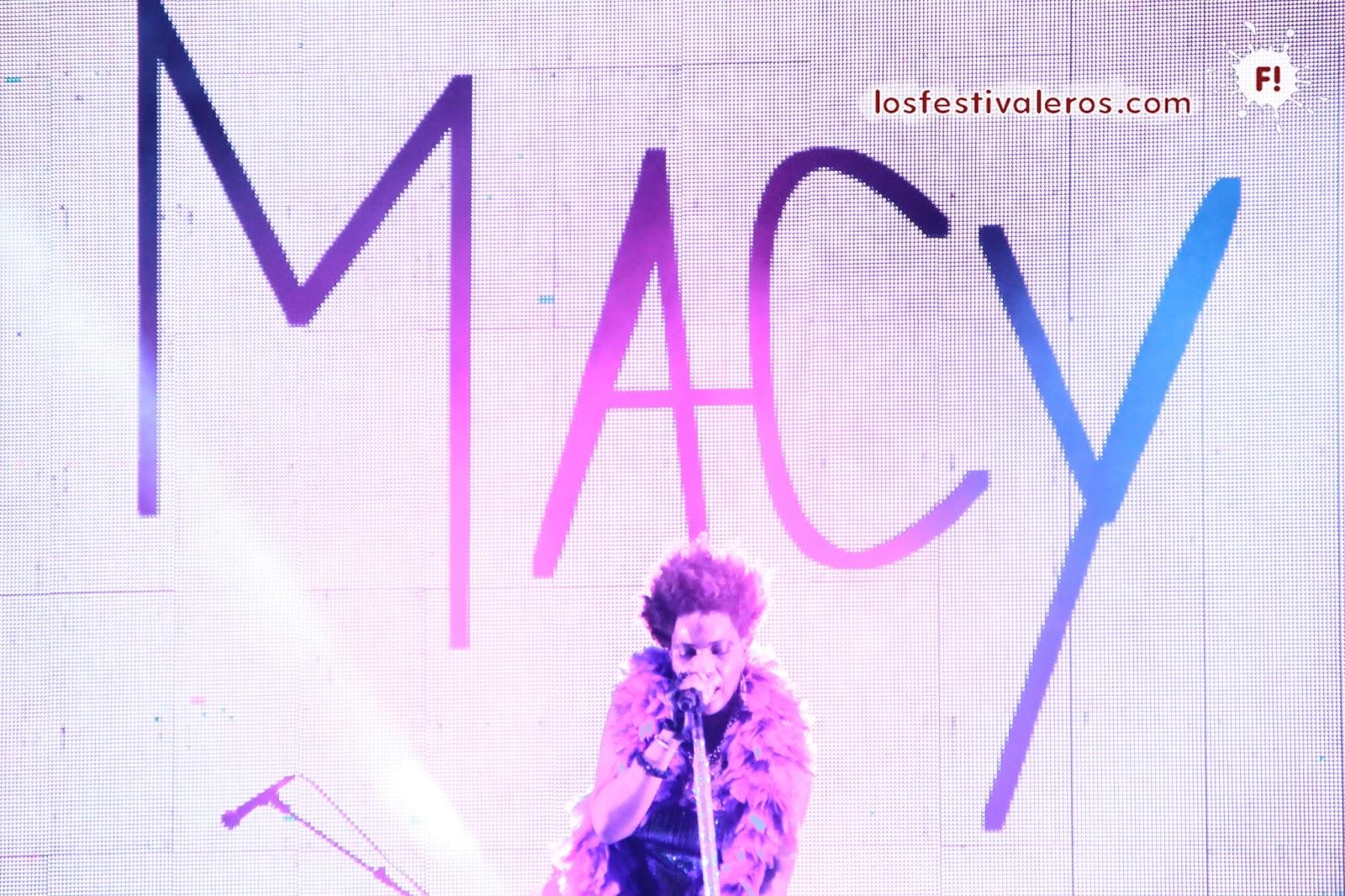 Macy Gray, BIME, 2014, Festival, Concierto