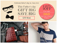 Buy Father's Day Special – Enjoy Upto 50% off & Extra 20% OFF on Shirts, Wallets and Much More. at Rs-200:buytoearn