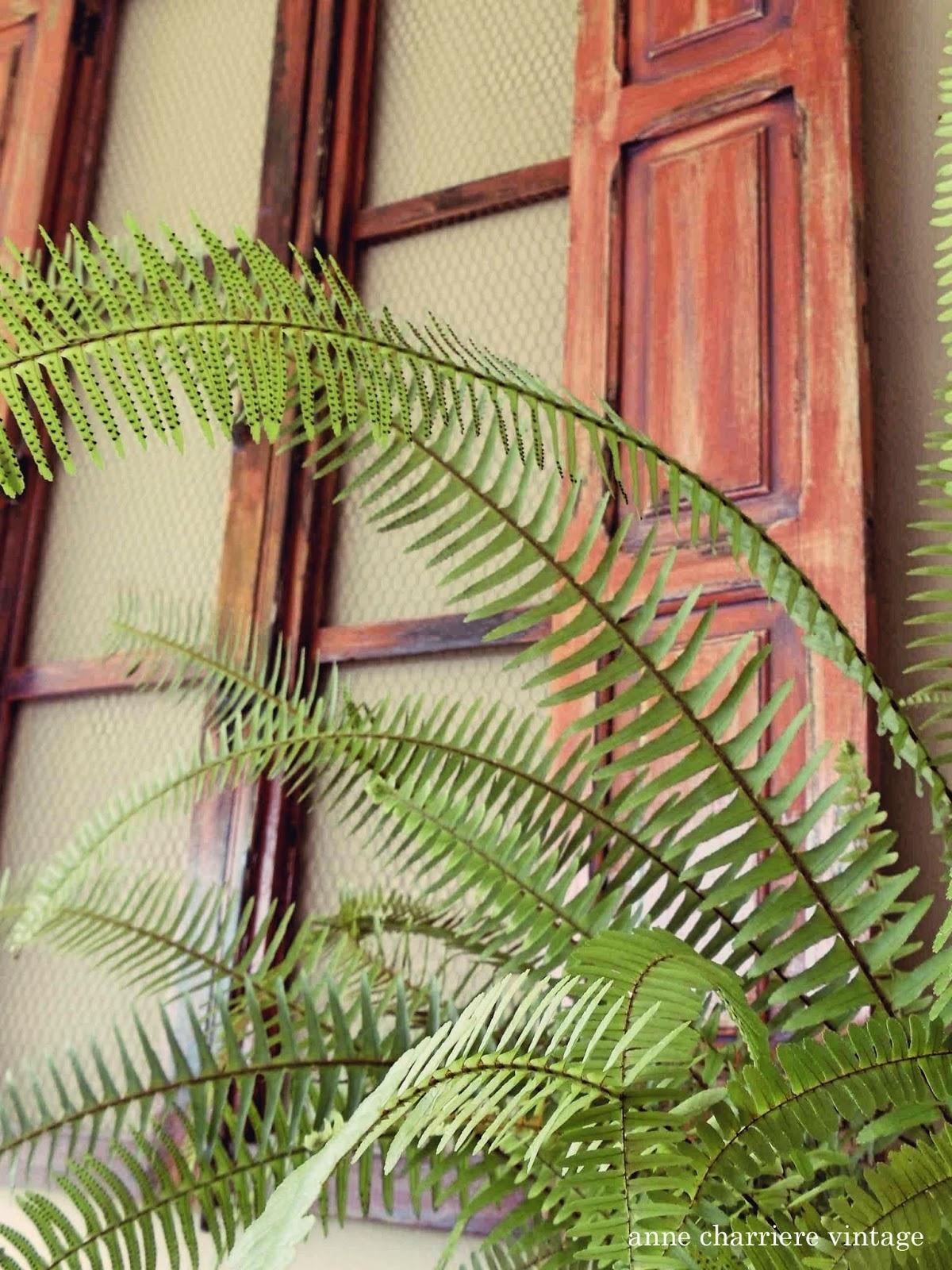 anne charriere vintage, reciclar viejas ventanas,