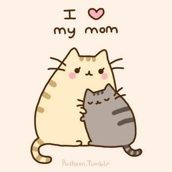 ¡ día de la Madre! Ilovemymom+cats