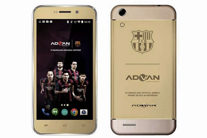 ADVAN Releases FC Barcelona Series With Barca Smartphone 5 And Tab 7