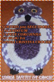 *BLOGS CANTINHO DA DRY & SINDIA TAPETES EM CROCHE