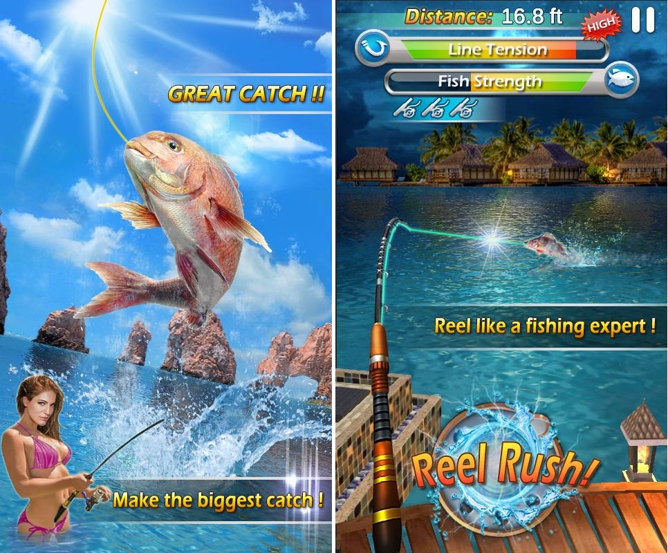 Fishing mania 3d apk mod v1 7 offline unlimited money for Fish mania game
