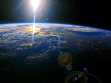 Earth and Sunset