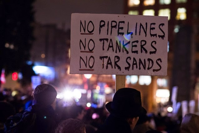No Pipelines, No Tankers, No Tar Sands (Credit: Travis Blanston/Flickr) Click to enlarge.