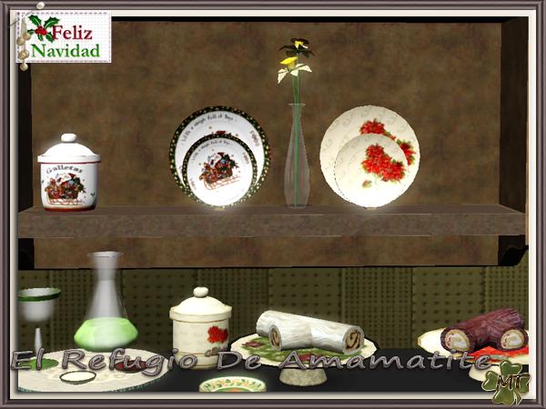 Christmas Decor Sims 3 : My sims new christmas decor by amamatite