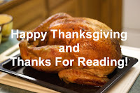 Happy Thanksgiving and Thanks For Reading