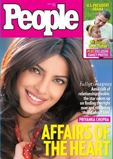 Priyanka Chopra - Priyanka Chopra on the cover of People Magazine July 2011