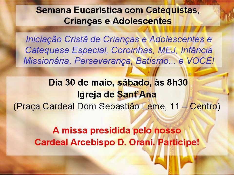 Semana Eucarística