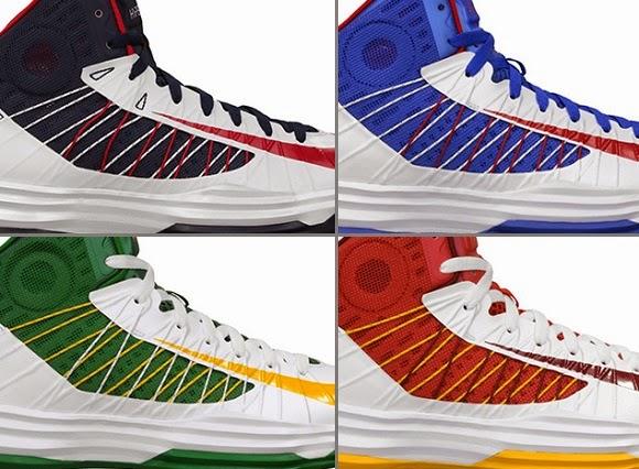 Nike Lebron Hyperdunk X Blue Orange Basketball Shoes