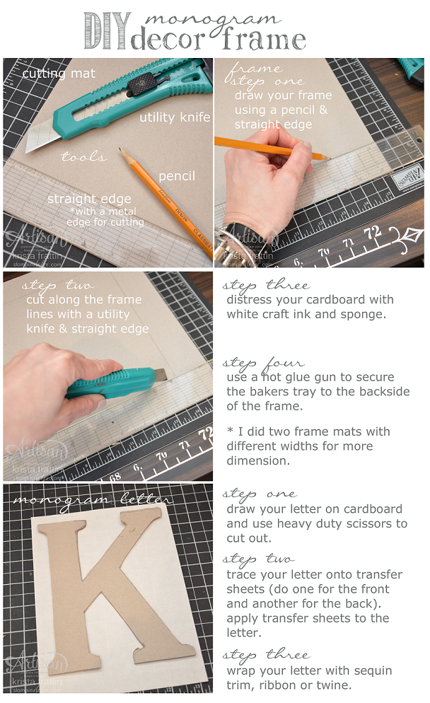 Stampin dolce diy monogram decor art artisan design team blog hop this kit is bursting with elements for you to jazz up the frame i did not even put a dent into the kit with the heart banner and chevron background paper spiritdancerdesigns Images