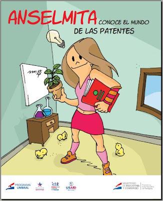 Imagen de un Cómic - Anselmita conoce el mundo de las Patentes