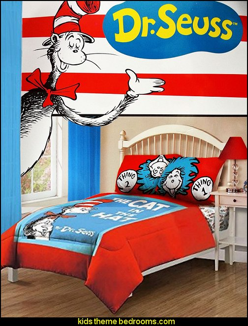 Dr Seuss Bedding Dr Seuss Bedrooms Cat In The Hat Bedrooms