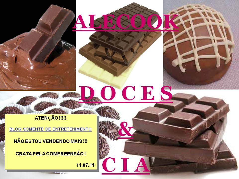 ALECOOK - Doces & Cia