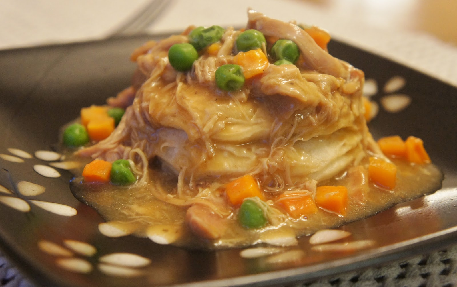 365 Days of Slow Cooking: Slow Cooker Easy Chicken Pot Pie