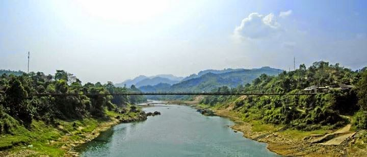 Cầu treo Na Hang - Tuyên QuangCầu treo Na Hang - Tuyên Quang