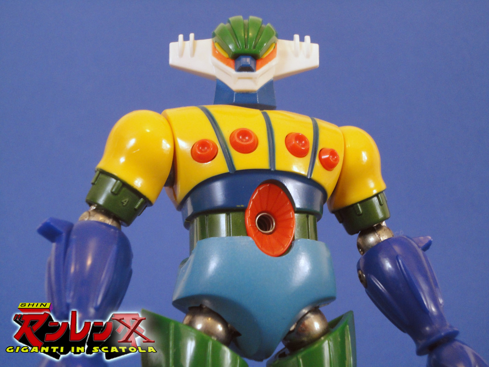 Robox vintage jeeg robot