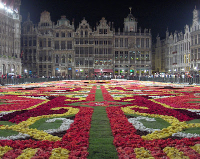 Grand Place notte