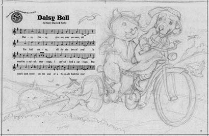Daisy Bell Sketch