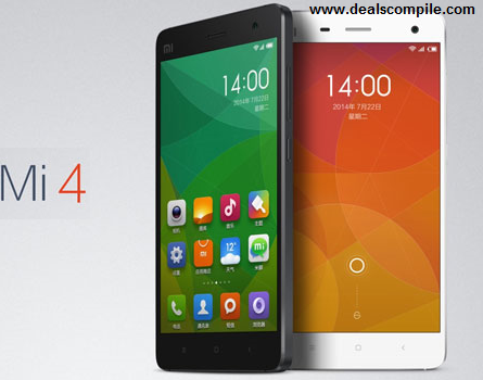 Xiaomi Mi 4 16GB Rs. 9999 (Exchange) or Rs. 14999, Xiaomi Mi 4 64GB Rs. 14999 (Exchange) or Rs. 19999 – FlipKart