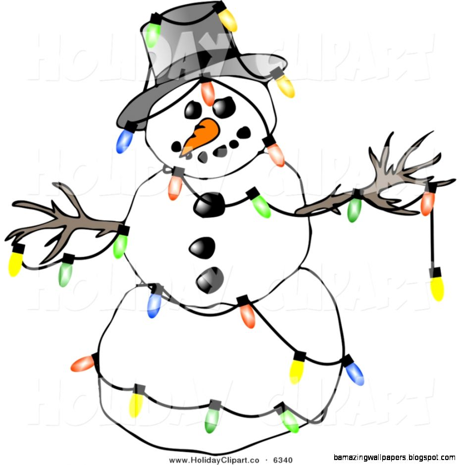 Winter Snowman Clipart   Clipart Kid