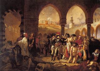 تفشي الطاعون بين جنود نابليون