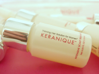 Keranique, Thinning Hair Solutions, Giveaway