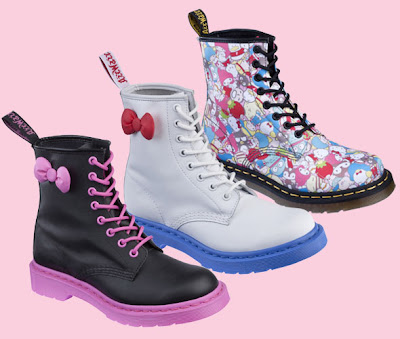 Hello Kitty Dr Martens boots