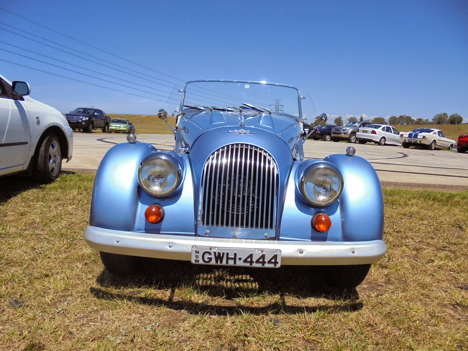 Aussie Old Parked Cars  1983 Morgan 4  4