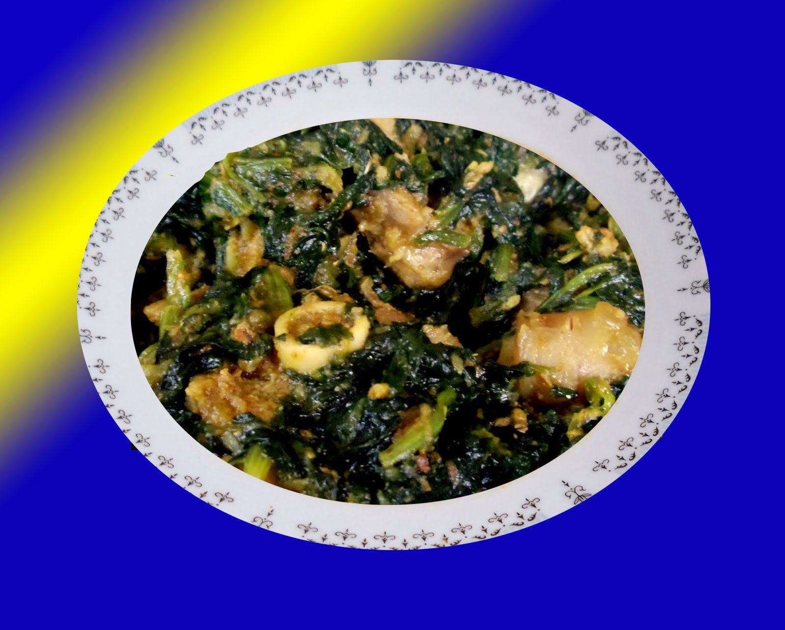 Spinach Mutton Recipe In Healthy Food Street