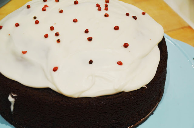 Chocolate Olive Oil Cake - homage to Gjusta | Cheesy Pennies