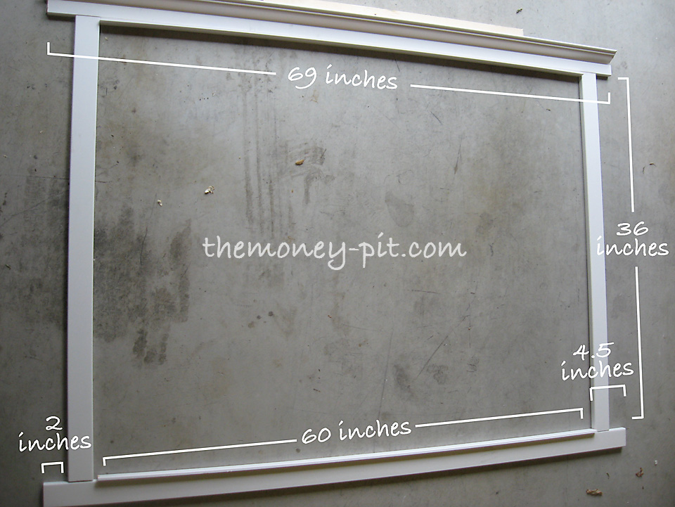 7 Foot Tall Mirror Part - 47: For My Mirror (3 Ft X 5 Ft) My Dimensions Looked Like This: