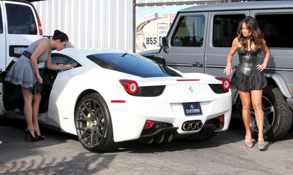 Kim Kardashian's Modified Ferrari 458 Italia