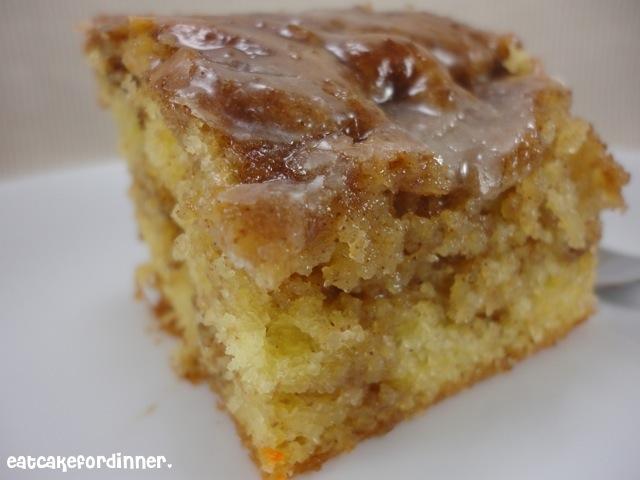 Honey Bun Cake Muffins