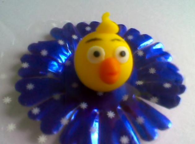 Doces decorados - Galinha Pintadinha