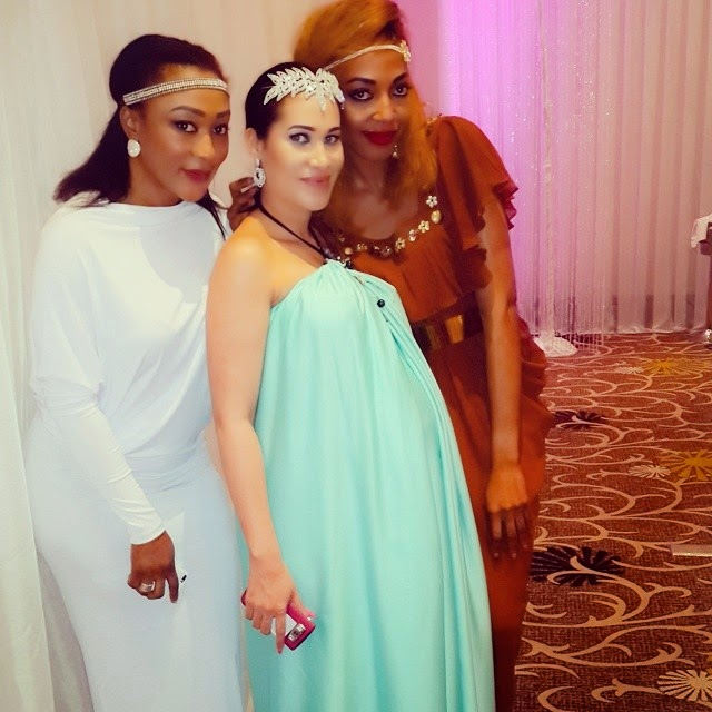 caroline danjuma baby shower picture