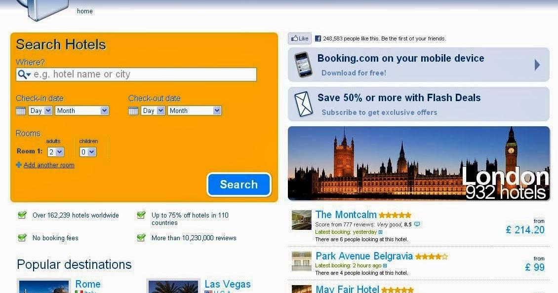 E 39 guerra tra hotel e agenzie online come for Hotel e booking
