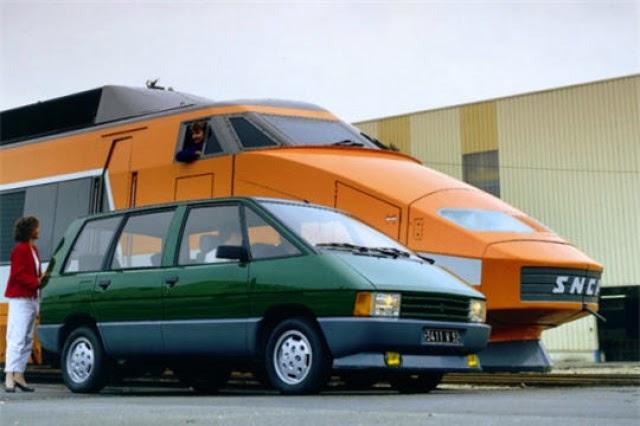 Renault Espace et TGV