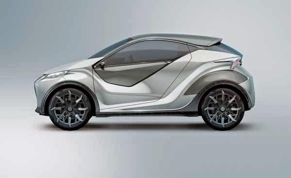 2015 Lexus LF-SA Concept Premieres
