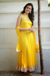 Rakul Preet Singh Latest Pictures in Yellow Salwar Kameez at Gopichand Prod.No.5 Movie Opening  086