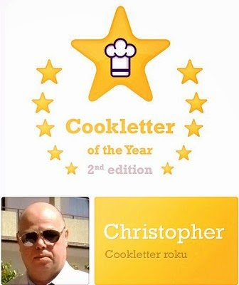 Cookletter o the Year