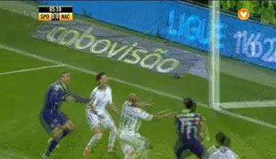 Golo anulado a Slimani no Sporting - Nacional