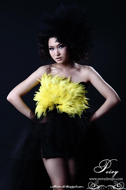 Photoshoot Black Gown