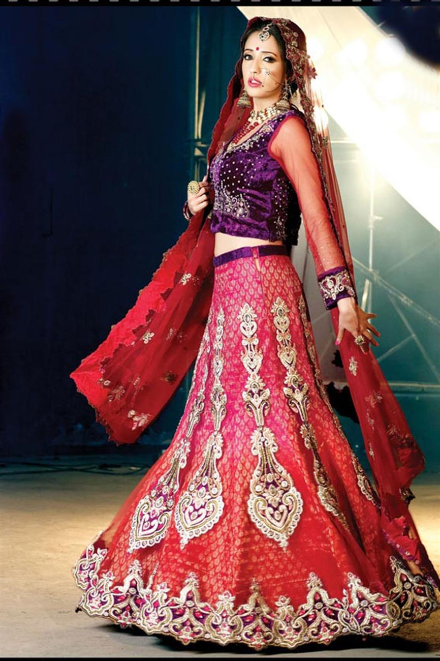 � � ��� indian designer beautiful lehengas for