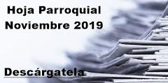 Hoja Parroquial Noviembre 2019