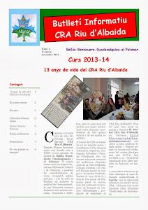 Butlletí Informatiu CRA Riu d'Albaida 2013-14