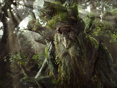 Treebeard from Lord of the Rings