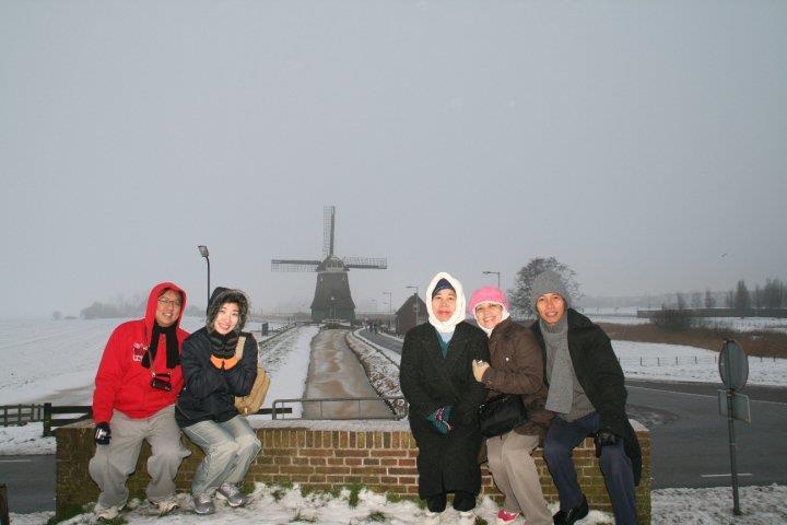 perjalanan kami ke netherland
