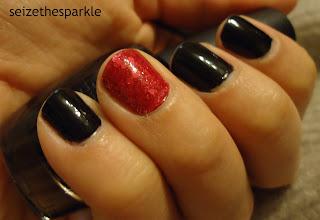 Valentine Accent Manicure